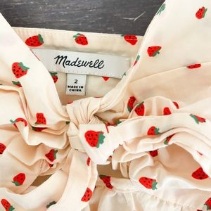 CUTEST STRAWBERRY MADEWELL TANK